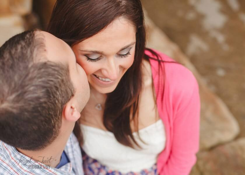 Michelle + Jesse // Easton Town Center Engagement // Wedding Photography Columbus Ohio // Forget Me Knot Photography