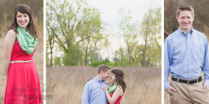 Columbus Ohio Engagement Photography // Katie + Chris Engaged // Grange Insurance Audubon Center