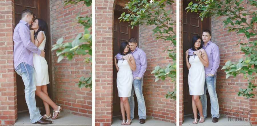 Vintage Engagement Photography in westerville ohio