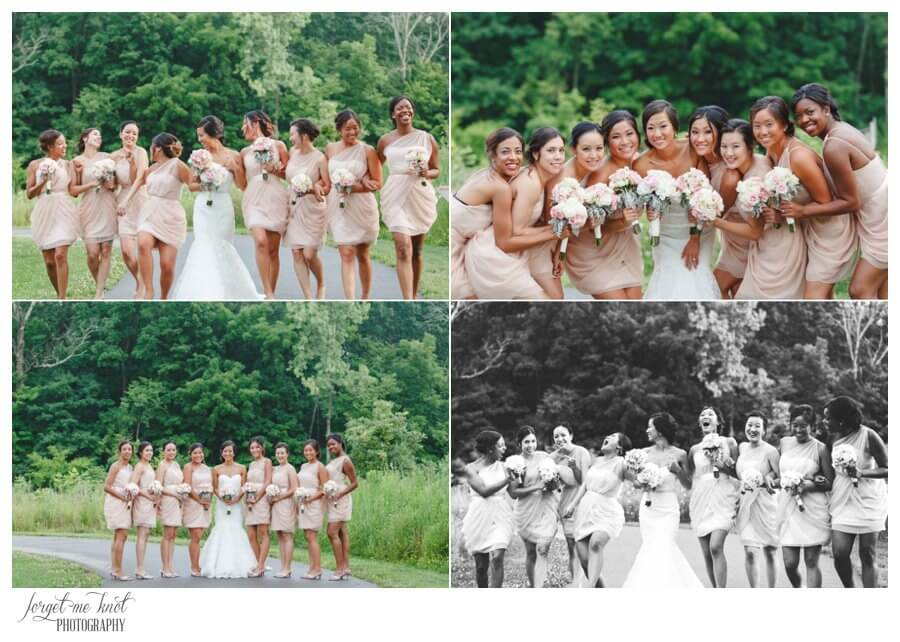 Nationwide Hotel and Conference Center Wedding Photos Lewis Center, OH Photographer bride bridesmaids highbanks