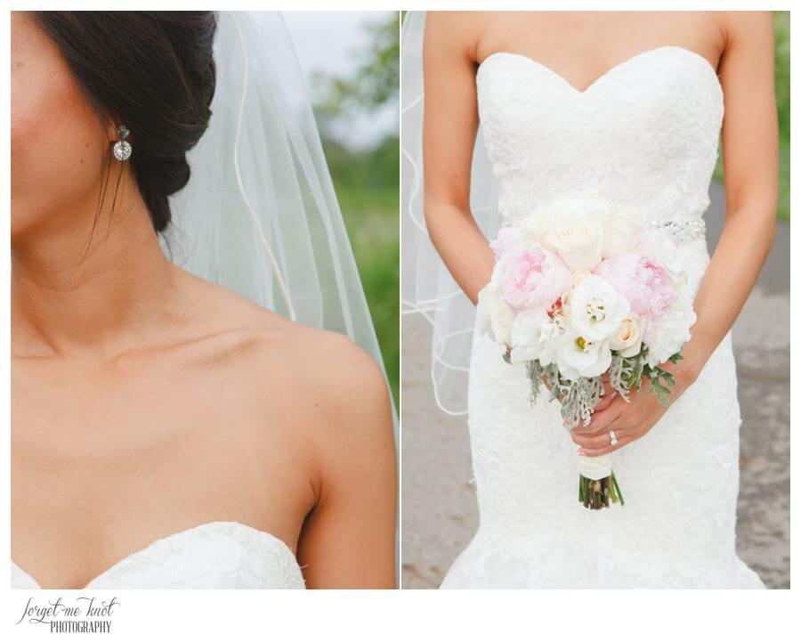Nationwide Hotel and Conference Center Wedding Photos Lewis Center, OH Photographer bride details flowers highbanks