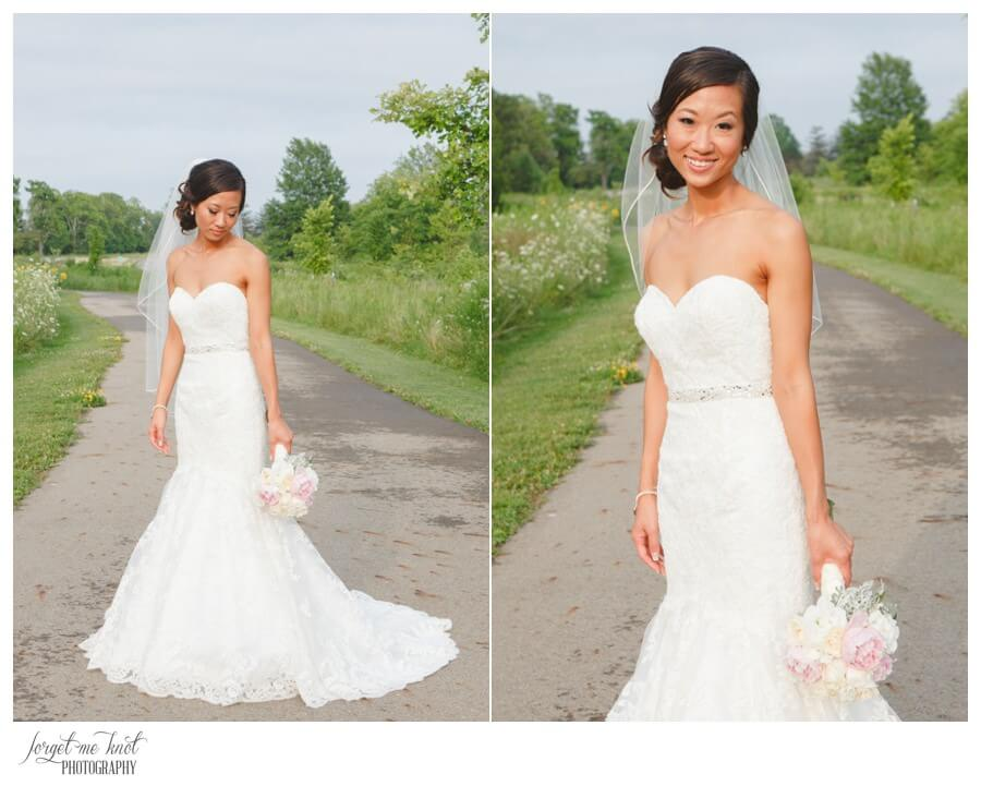 Nationwide Hotel and Conference Center Wedding Photos Lewis Center, OH Photographer bride portraits highbanks