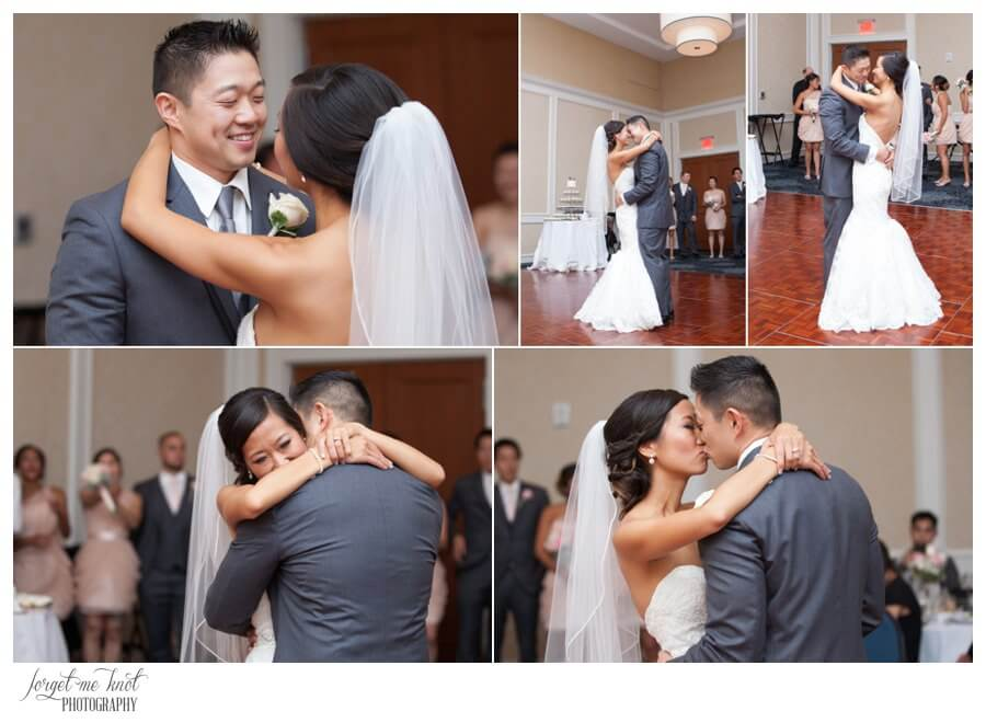 Nationwide Hotel and Conference Center Wedding Photos Lewis Center, OH Photographer wedding bride groom first dance