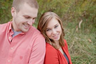 columbus wedding photographer high banks metro park engagement laura and nick