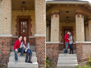 Goodale Park Engagement | Allison and Tim
