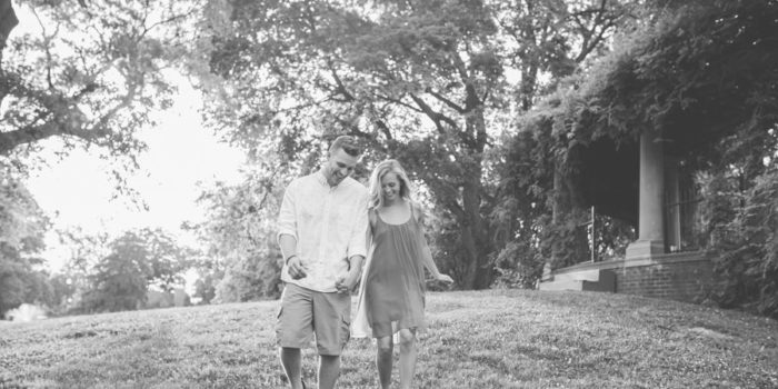 Schiller Park Engagement - Columbus Wedding Photographer - Couple Happy In Park