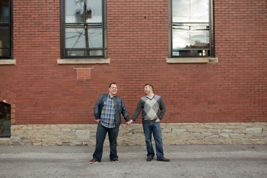 same sex engagement in short north columbus ohio