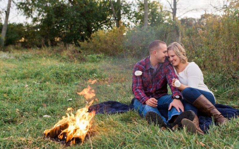 Columbus, Ohio Farm Engagement | Brooke and Thomas