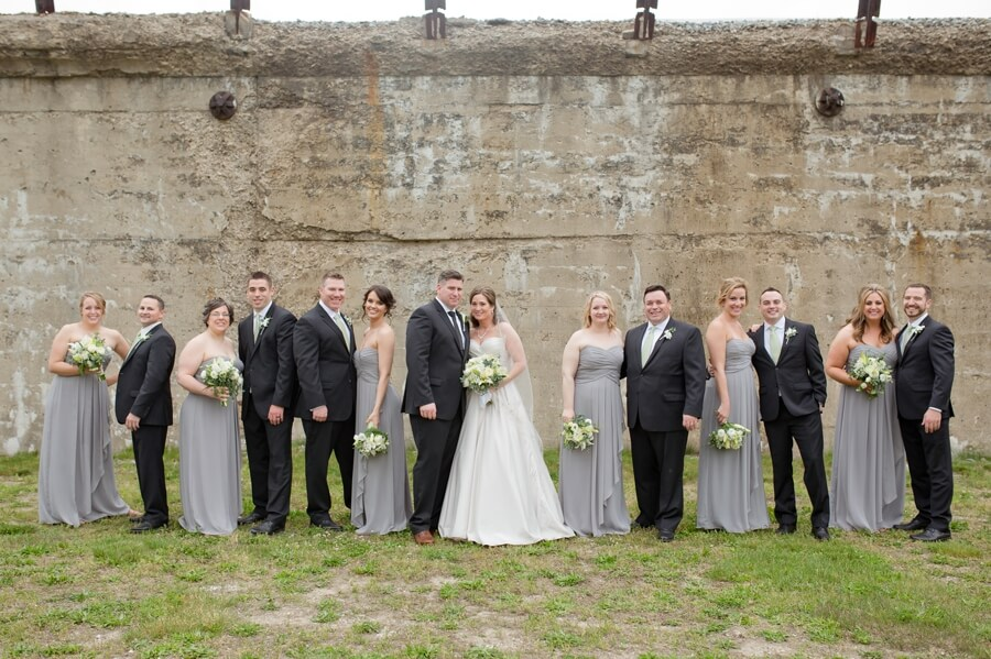 bridal party in columbus, ohio
