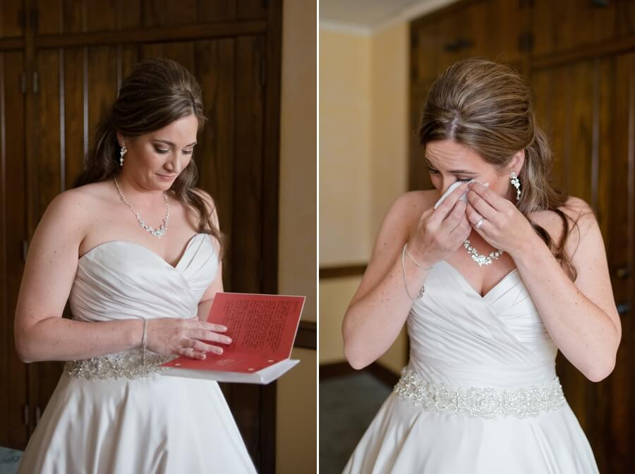 bride getting ready at first congregational church columbus ohio
