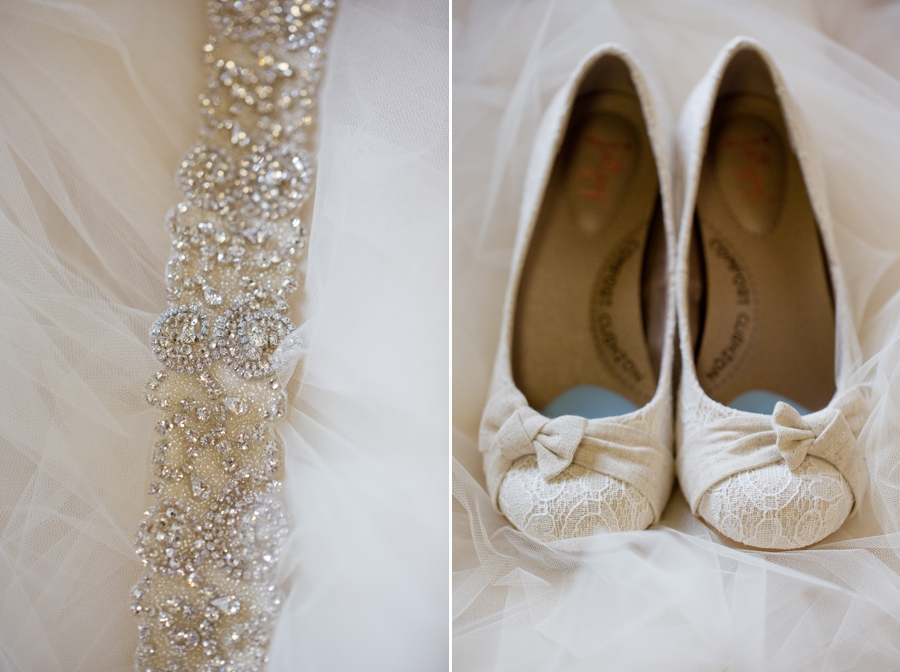bride details at Grand Vue park