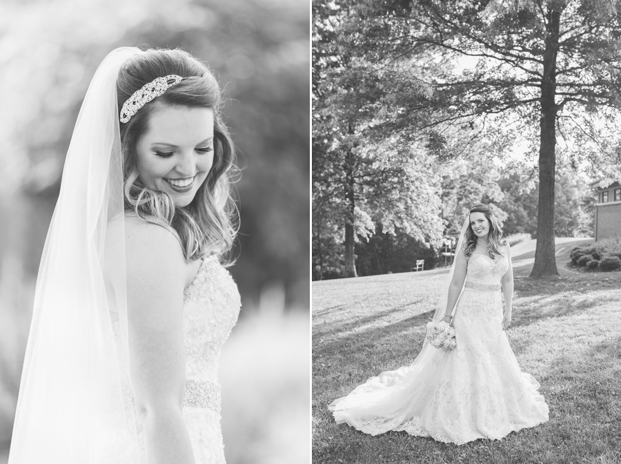 bridal portraits at grand vue park