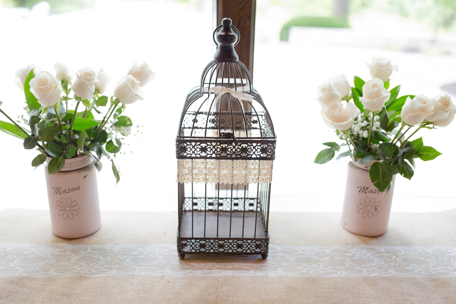 card bird cage at the darby house