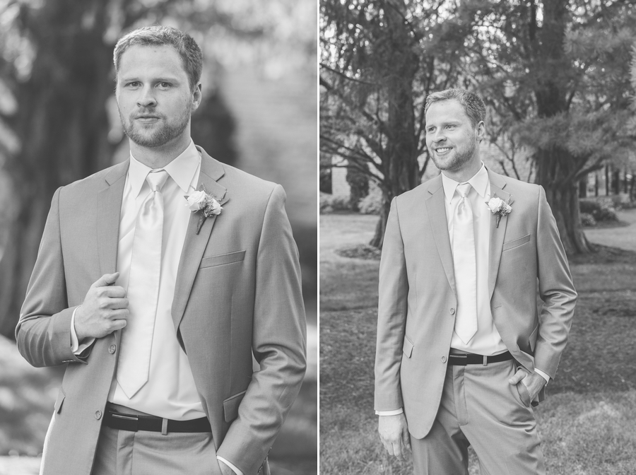 groom portraits at the darby house
