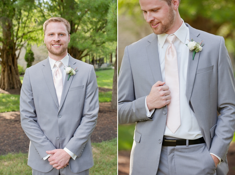 groom and groom details at the darby house
