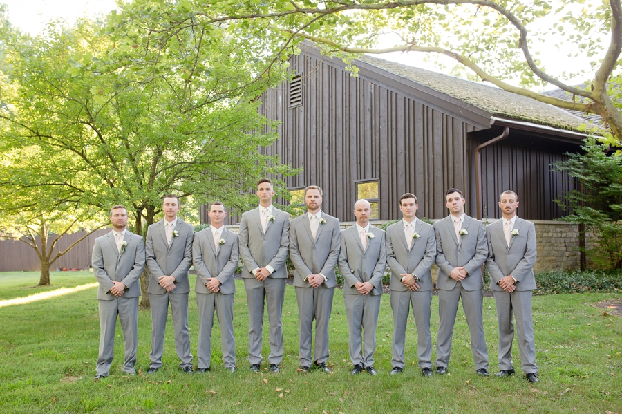 groom and groomsmen at the darby house
