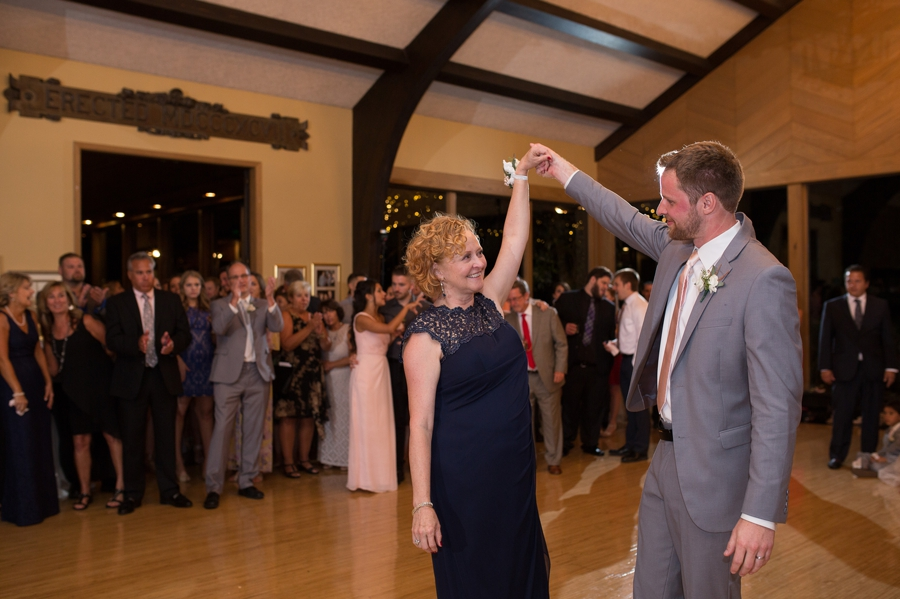 mother son dance at the darby house