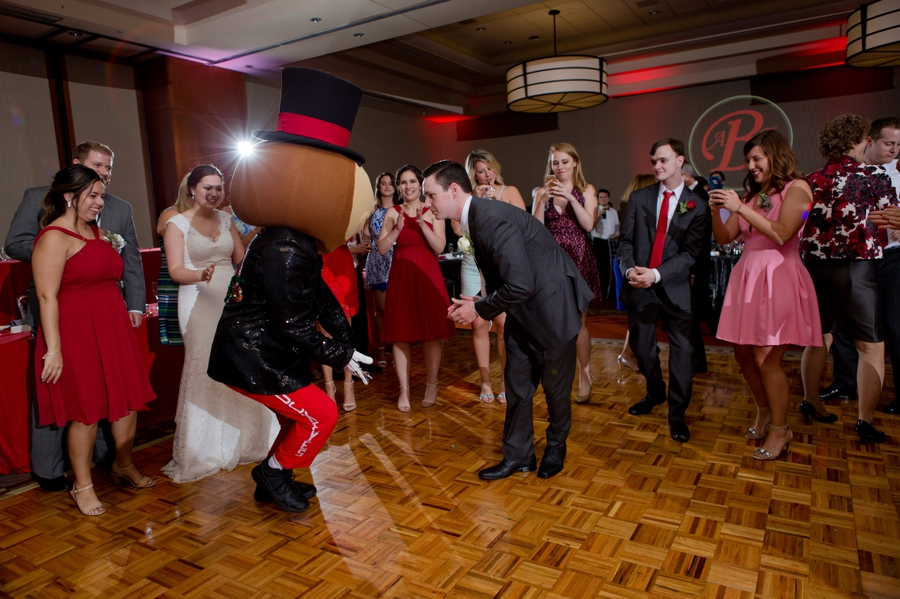 The Blackwell Columbus OH brutus groom dancing