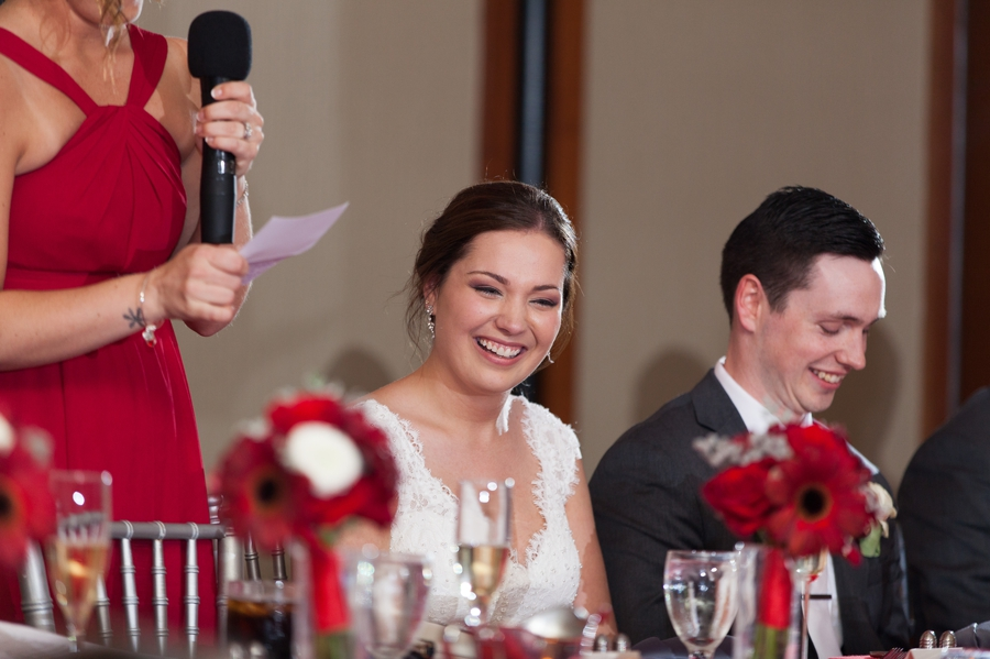 The Blackwell Columbus OH maid of honor speech