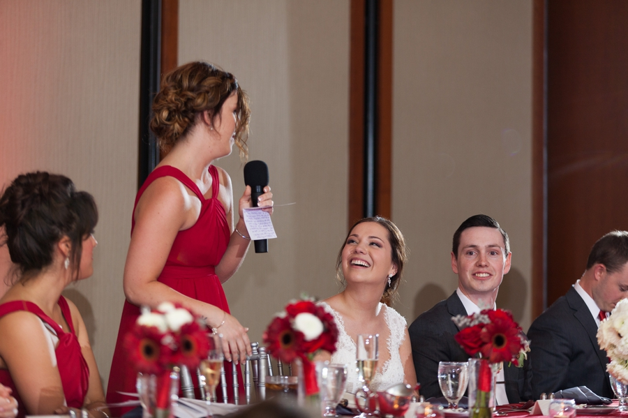 The Blackwell Columbus OH bridesmaid speech