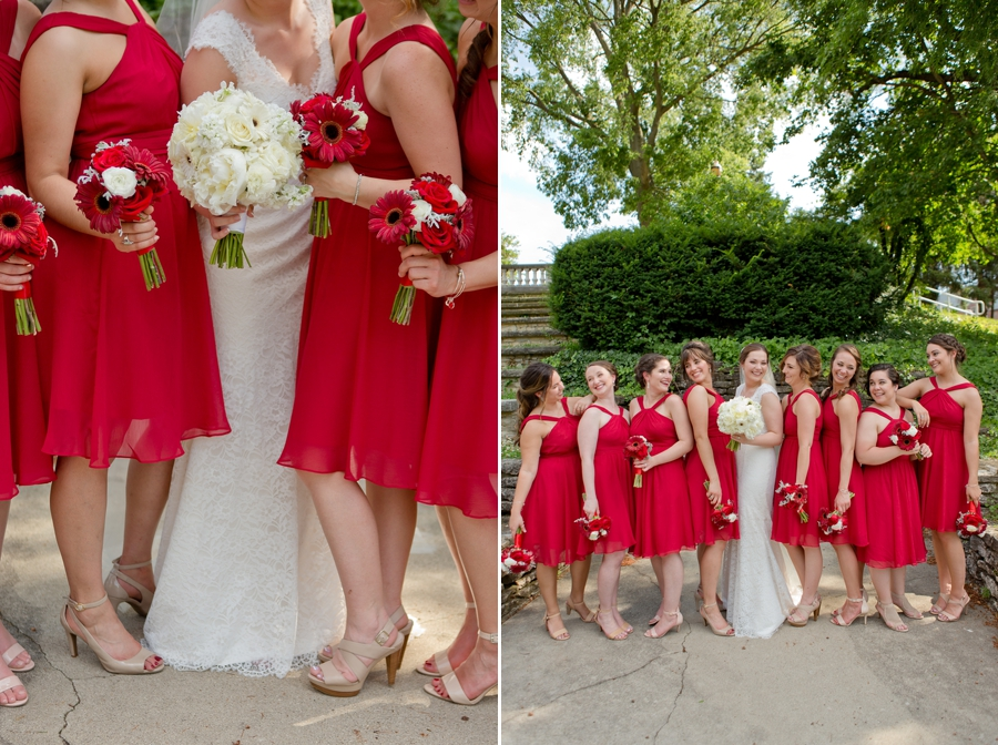 The Blackwell Columbus OH bridemaids