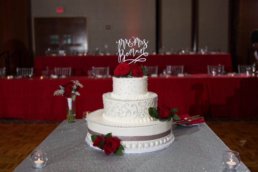 The Blackwell Columbus OH wedding cake