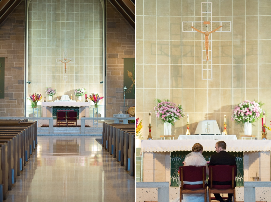 St. Christopher Catholic wedding