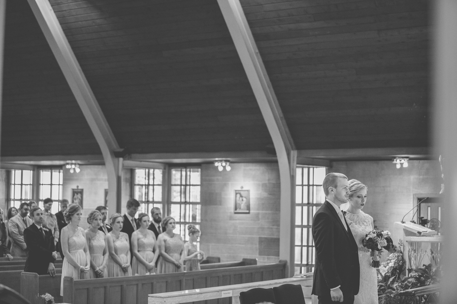 wedding ceremony St. Christopher Catholic