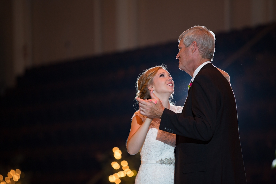 father of bride dance at The Columbus Athenaeum