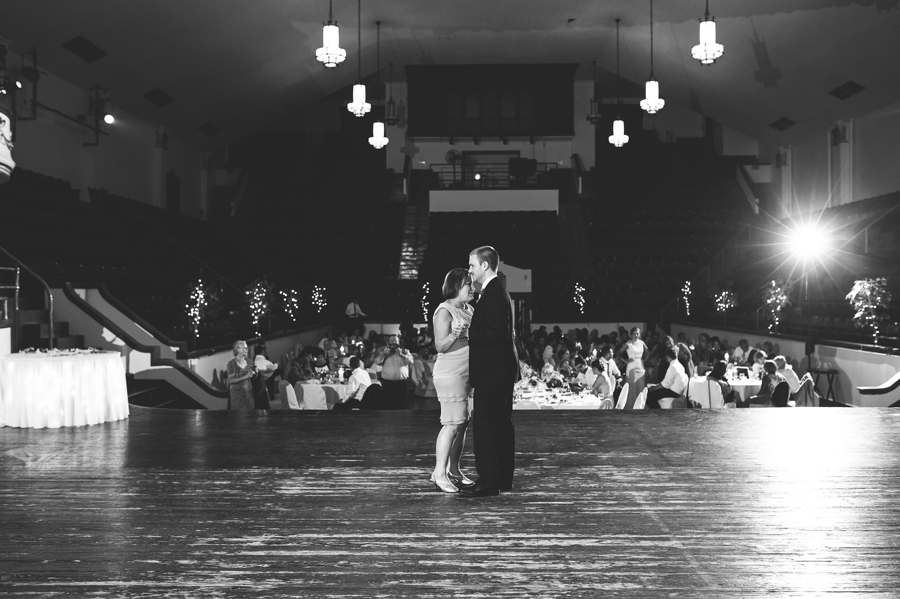mother son dance at The Columbus Athenaeum
