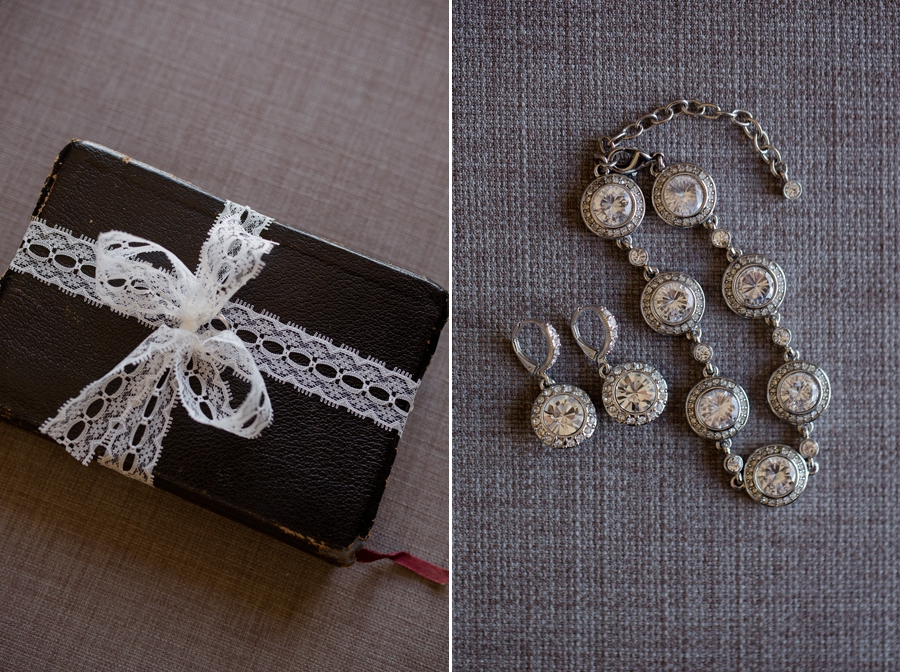 bride jewelry at The Hilton downtown Columbus