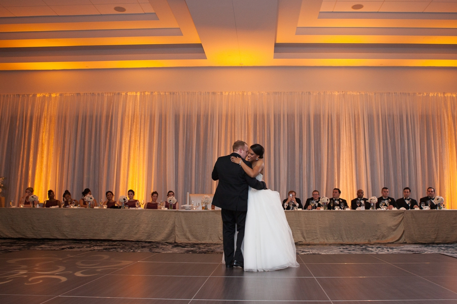 first dance at The Hilton Downtown Columbus