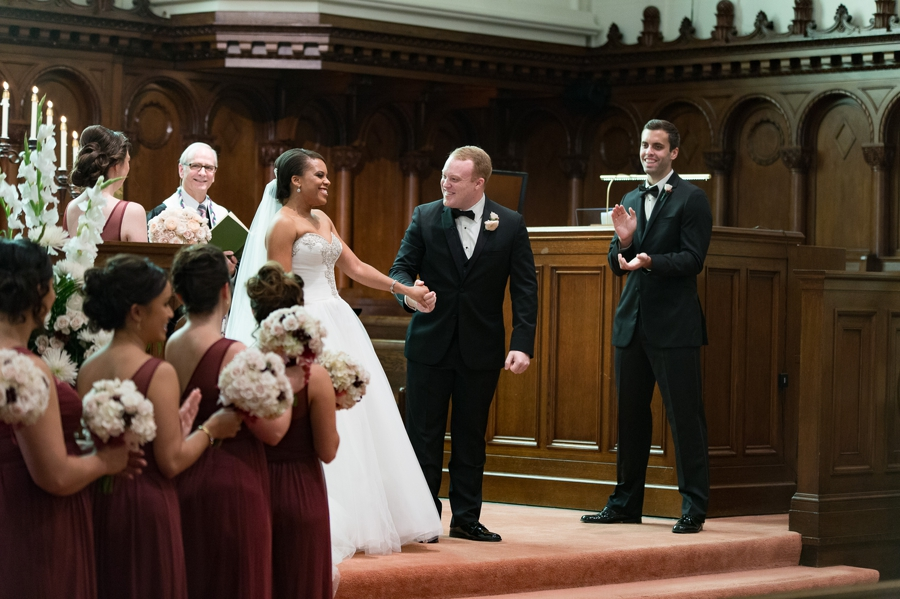 announcement of married couple at church