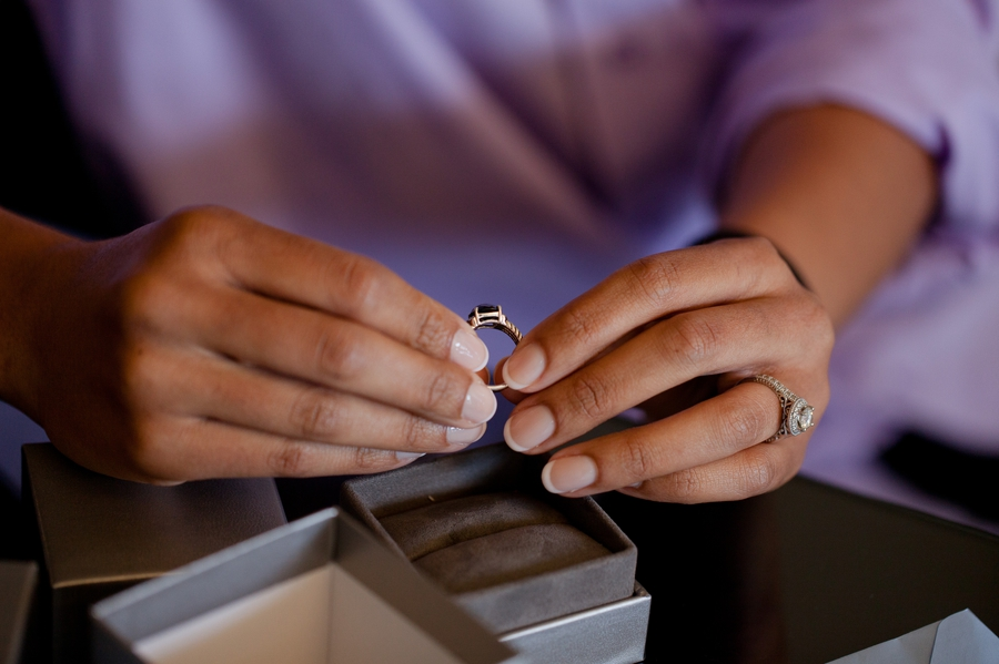 ring gift from groom to bride