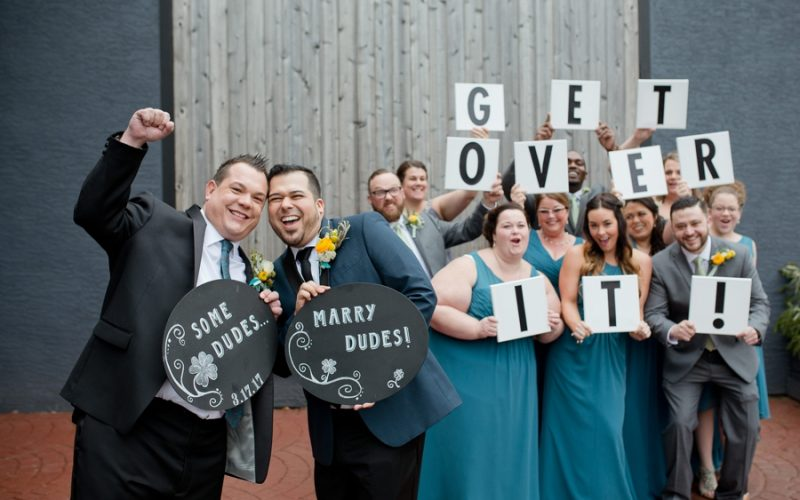 High Line Car House Wedding | Ben and Topher