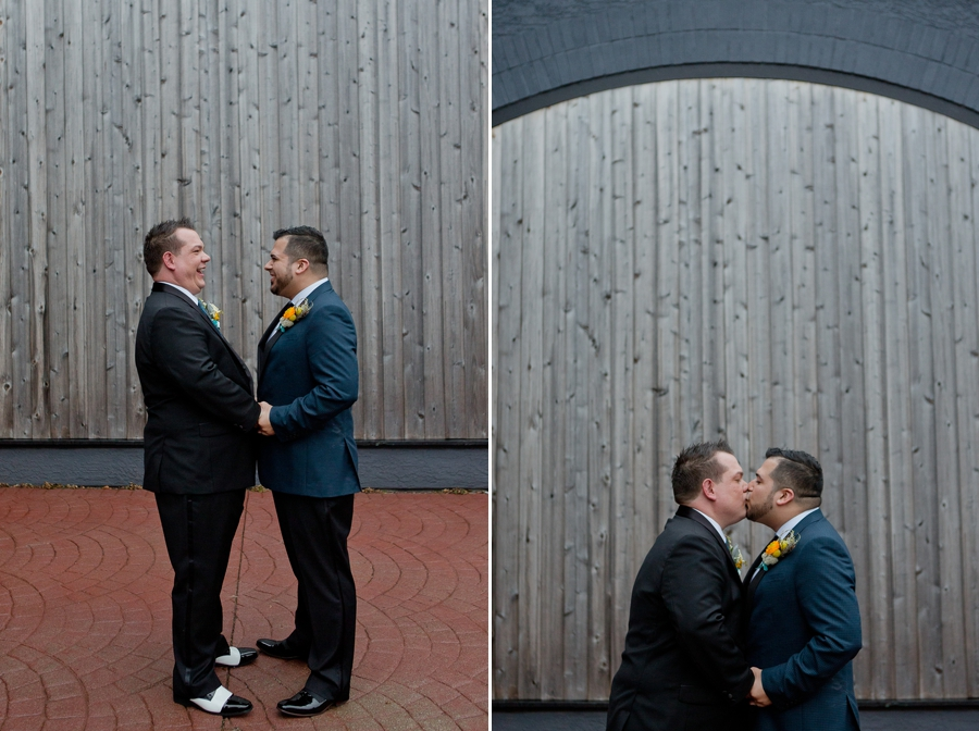 same sex couple wedding in Columbus, OH