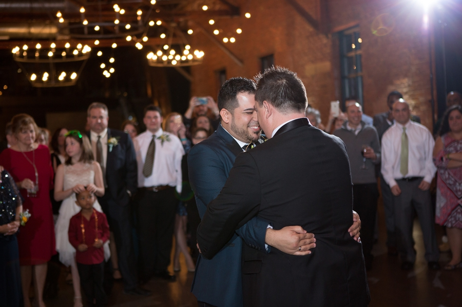 same sex wedding first dance
