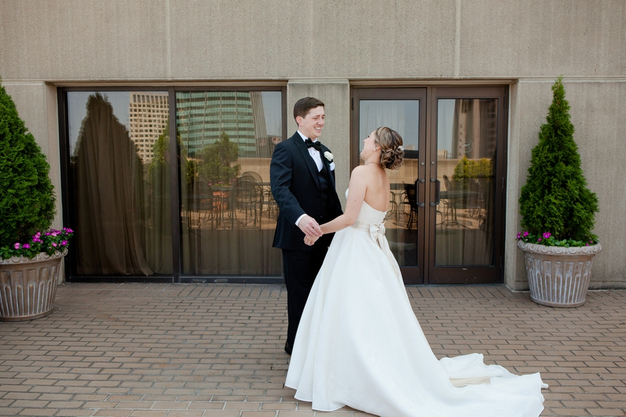 groom emotional at first look at staehouse