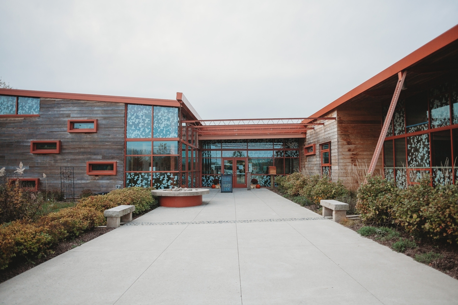 wide photo of grange insurance audubon center