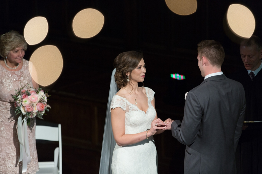 exchange of rings at the bluestone columbus