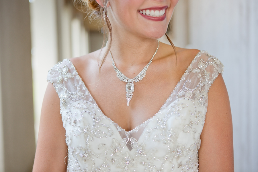 close up photo of bridal jewelry