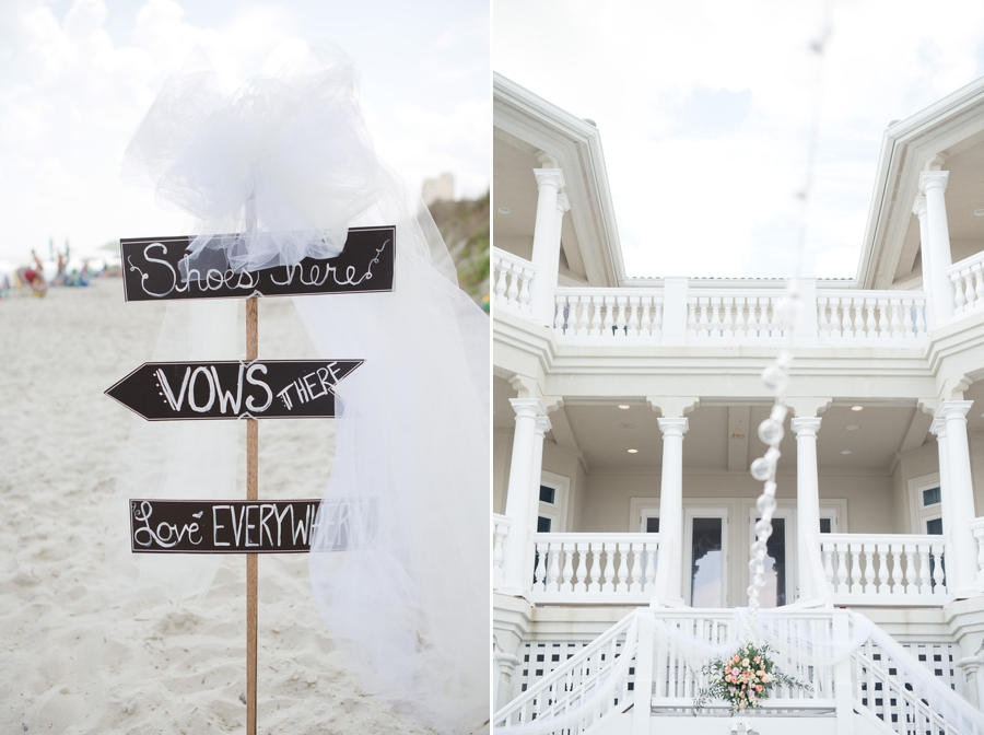 beach house at ocean isle wedding