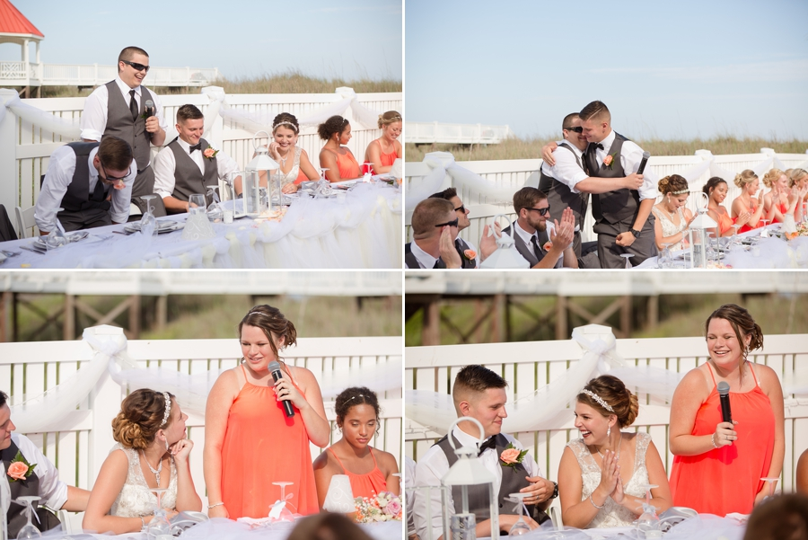 best man and maid of honor speeches