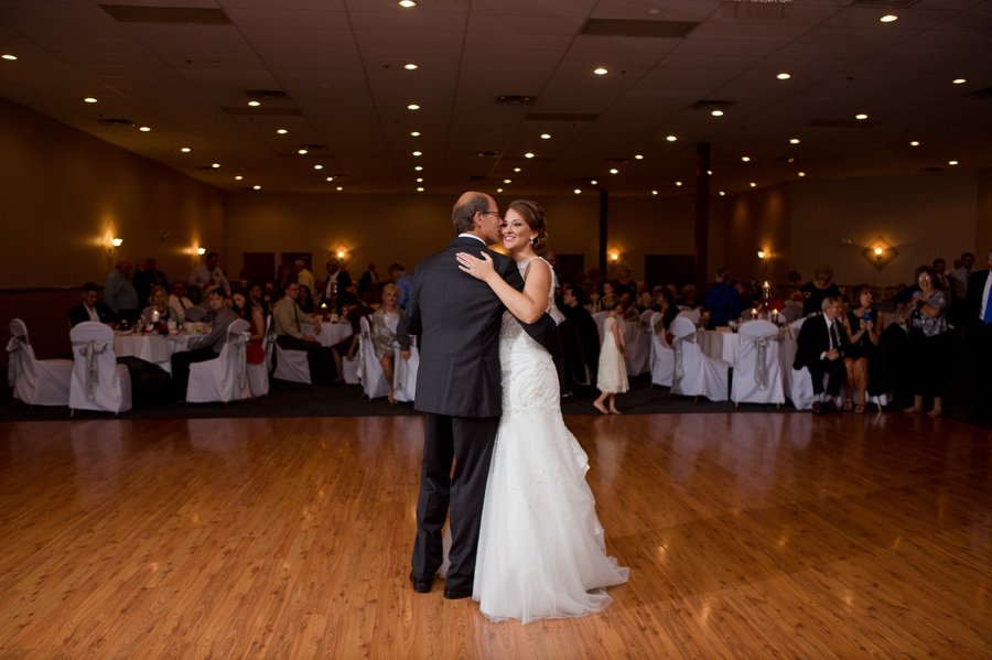 father of bride dance at the galleria