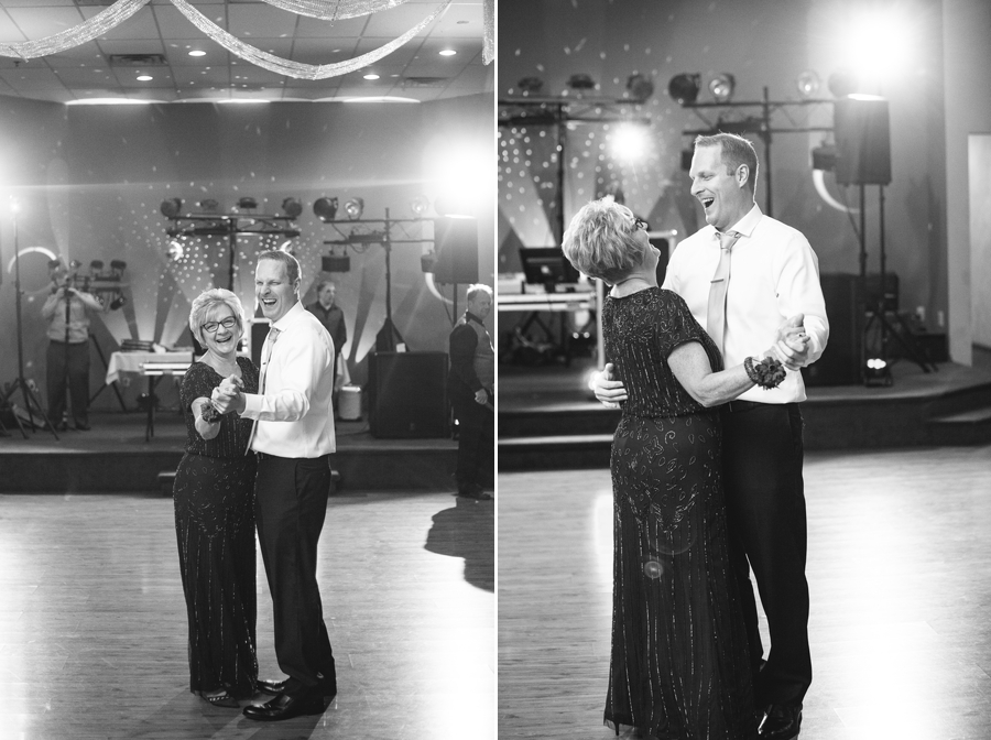 mother of son dance at grand lake galleria
