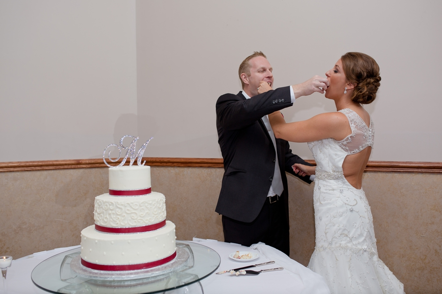 cake cutting photo at the galleria conference center