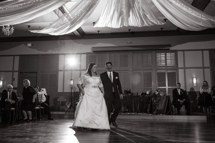 wide photo of father daughter dance