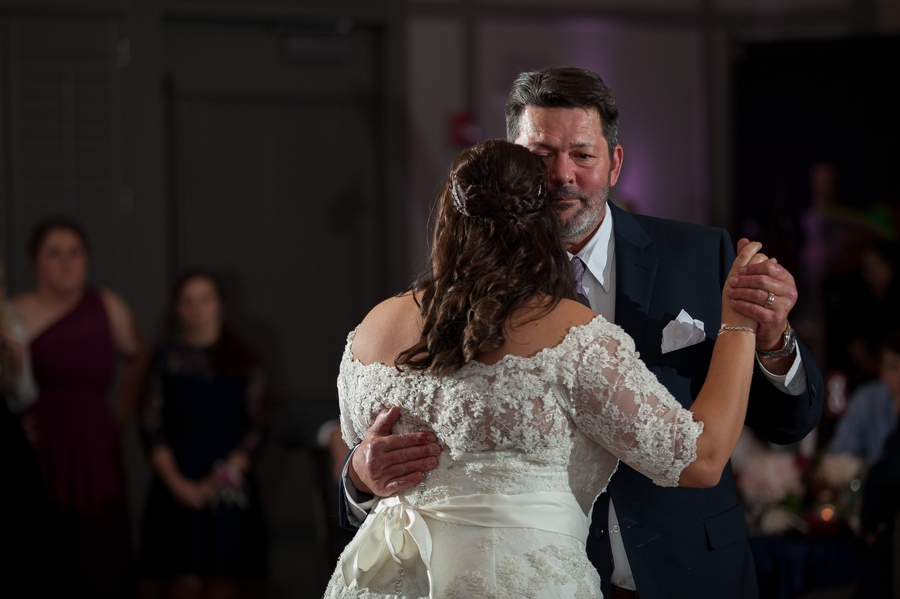 close up photo of father daughter dance