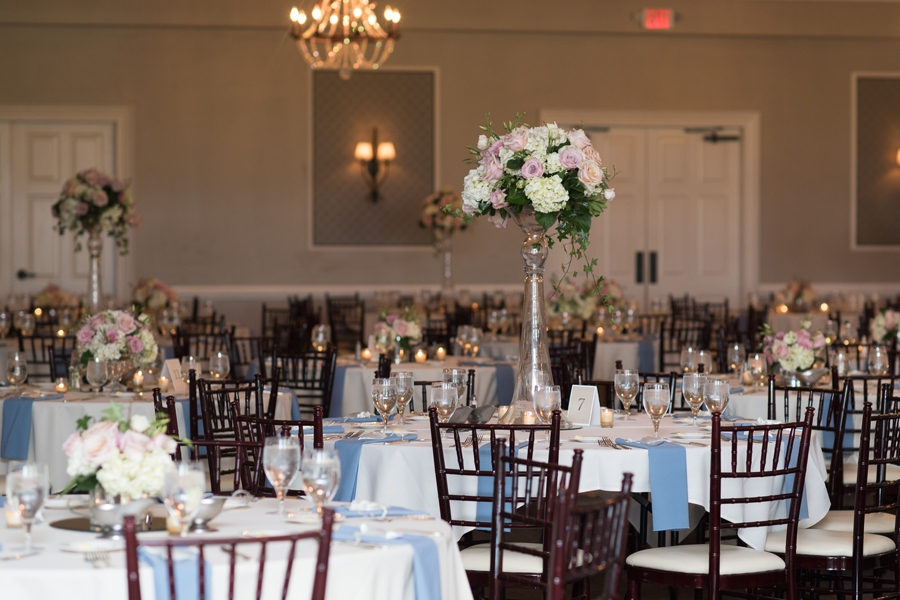 centerpieces at wedgewood country club