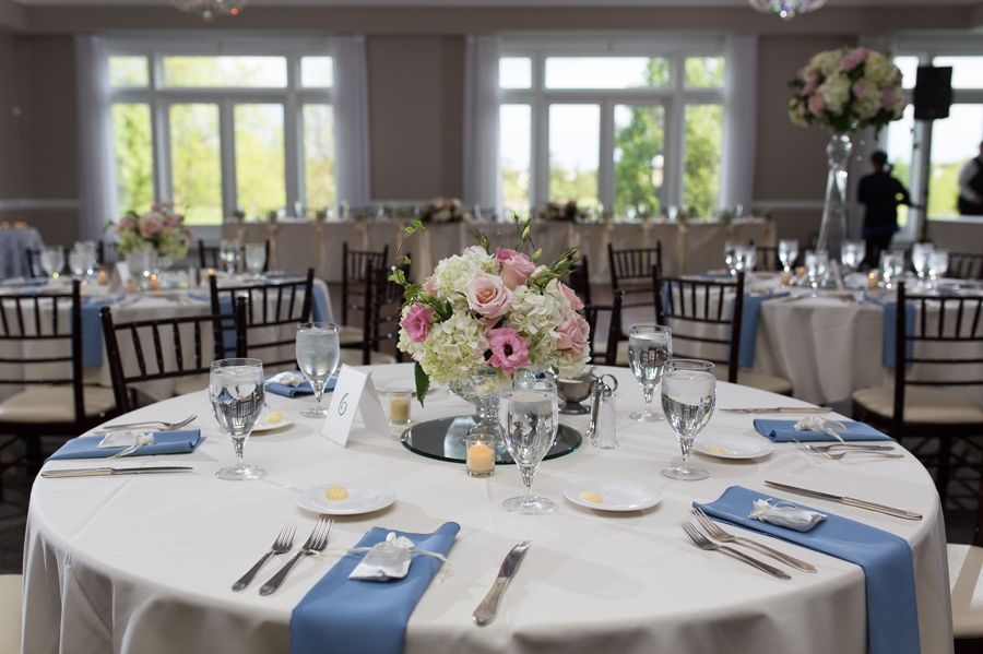 small centerpieces at wedgewood country club